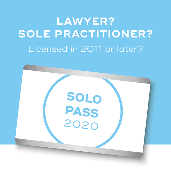 Solo Pass Lawyer 2019