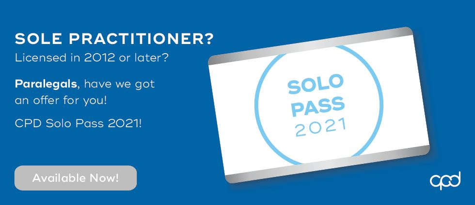 Solo Pass - Paralegals