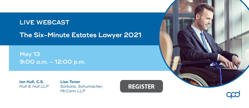 The Six-Minute Estates Lawyer 2021