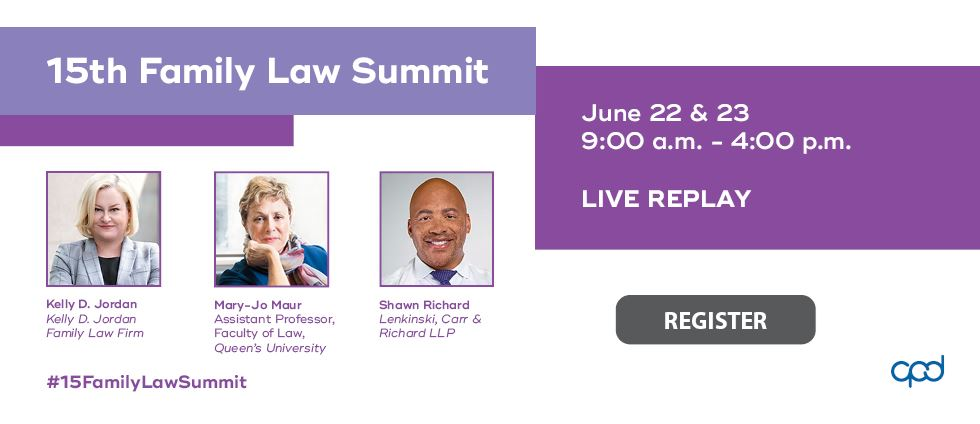 Replay: 15th Family Law Summit