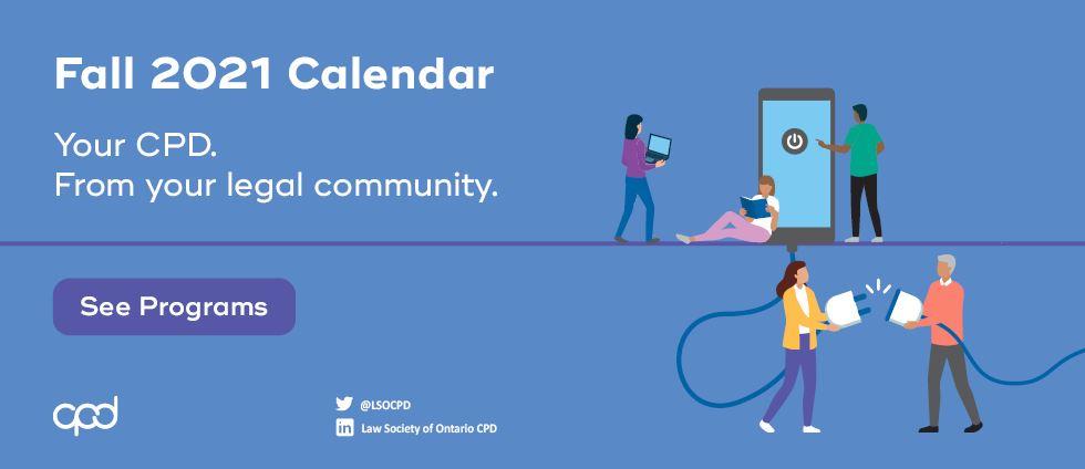 Fall 2020 Calendar