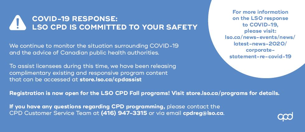 COVID-19 Announcement