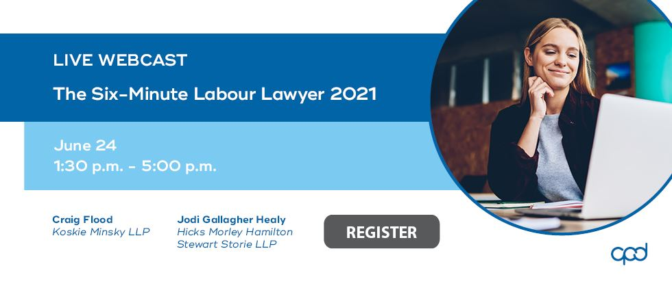 The Six-Minute Labour Lawyer 2021